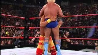 Hulk Hogan Vs Ric Flair -- RAW 2002avi