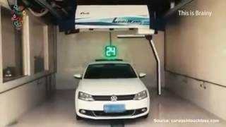 Робот бесконтактной мойки. Будущее уже сегодня))