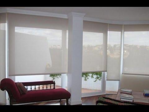 Como hacer cortinas para dormitorios youtube for Cortinas grises para dormitorio