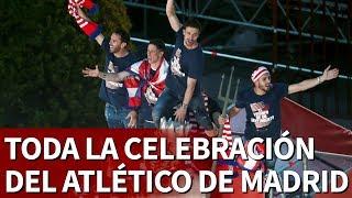 Celebración completa del Atlético de Madrid con su afición | Diario As