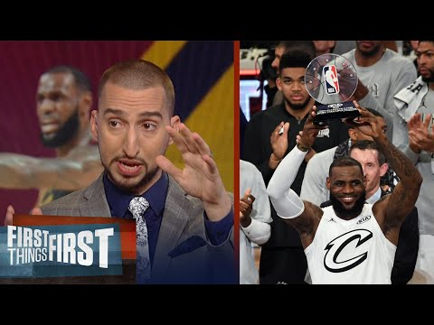 Nick Wright on LeBron James winning his 3rd All-Star Game MVP | FIRST THINGS FIRST