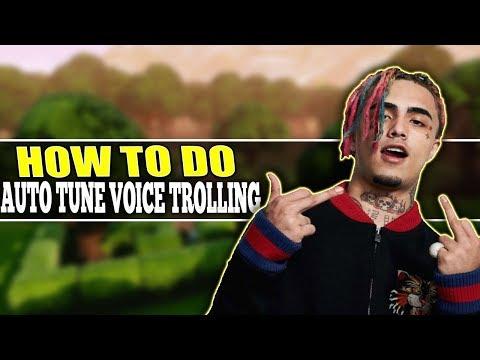 Auto Tune Tutorial: How To Do Auto Tune Voice Trolling