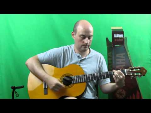 Yamaha C40 Classical Guitar Review - A Great Beginners Guita