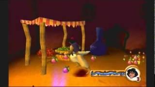 Ps1 game: Aladdin In Nasira's Revenge- Agrabah Level 1 P2