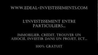 eDeal-investissements - CETELEM - Crédit et financement - 2012