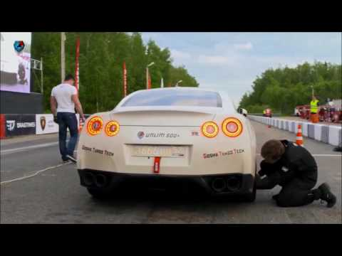 Unlim 500+ 2017 Nissan GT-R Lucifer GoshaTurboTech Тюриков
