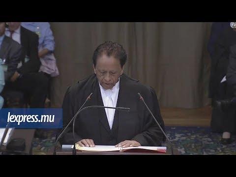 La Haye: Sir Anerood Jugnauth prend la parole