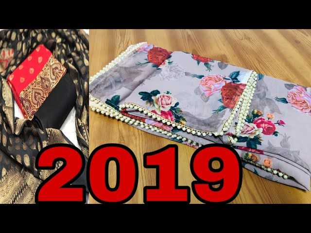 ???????? ????? 2019 ??????? | Printed Sarees Surat Latest 2019 Collection | Surat Textile Market
