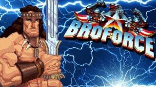 Broforce кооп Прохождение  НОВЫЕ БРО 03