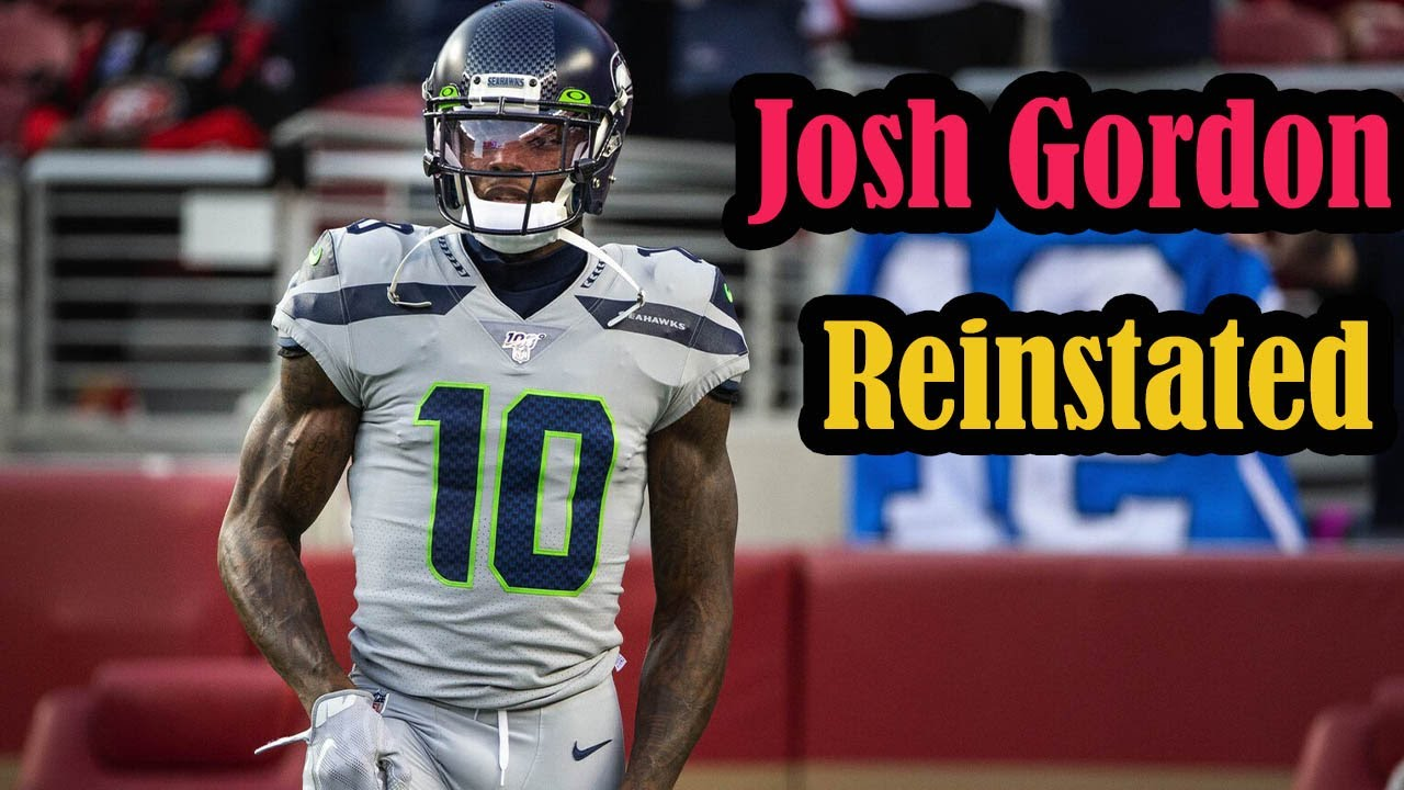 Seahawks WR Josh Gordon Conditionally Reinstated By NFL ...