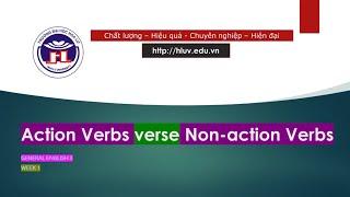 GE3 W1 3 Action Verbs vs Non action Verbs