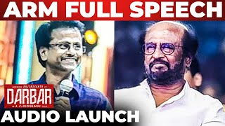 AR Murugadoss Vera Level Speech Darbar Audio Launch
