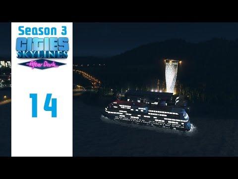 Cities: Skylines - Episode 14 - Love Boat