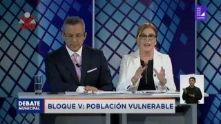 Primer gran debate del JNE para la alcaldía de Lima (23-9-18)