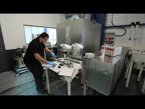 Essais hydrauliques multi-fluides
