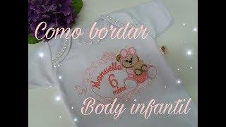 Body Bordado Bailarina