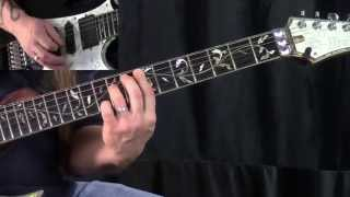 """How To Play """"The Headless Children""""  by W.A.S.P.  - Guitar Lesson"""