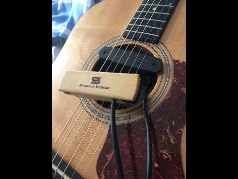Acoustic Pickups- Seymour Duncan Woody Humbucker VS Fishman Neo-D Single Coil