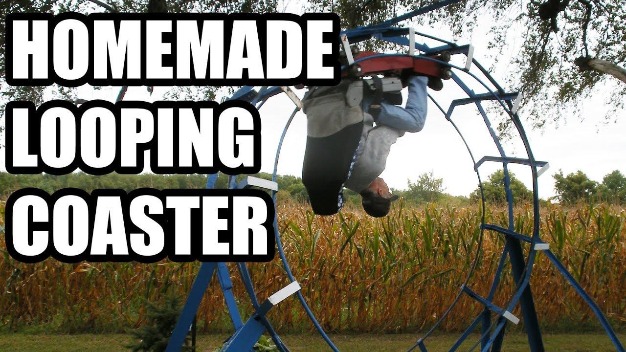 john ivers u0027 backyard roller coaster youtube