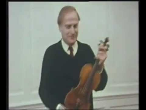 Yehudi Menuhin Violin Tutorial - 6. Left and Right Hand Coordination (incomplete)