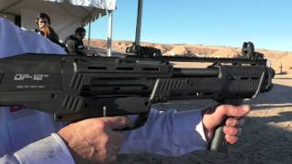 DP12 Double Barrelled Pump Shotgun: SHOT Show 2015