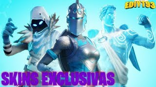 EXCLUSIF SKINS-PACK OF FORTNITE-895 WINS GLACIAL LAWS