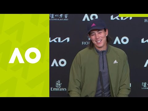 "Garbine Muguruza: ""The difference was one point"" (4R) press conference 