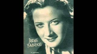 """Irène Fabrice """" Etre seuls tous les deux """" 1954"""
