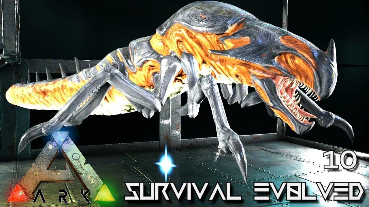 ARK: ABERRATION MODDED - PERFECT 600 REAPER KING & CLONE !!! E10 ( GAMEPLAY  ARK: SURVIVAL EVOLVED )
