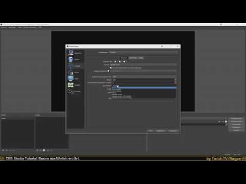 OBS Studio Tutorial 01: Basics ausführlich erklärt - Deutsch / German