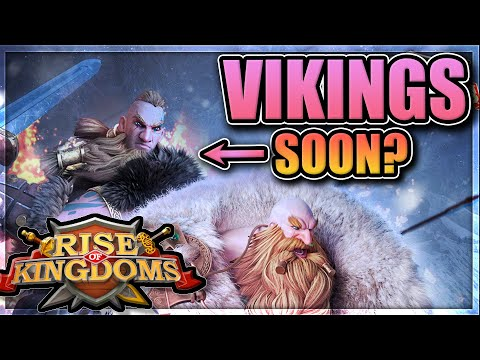 New Viking Civilization and Commanders in Rise of Kingdoms [Everything we know so far...]