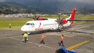 Avianca ATR 72-600 despegue de Manizales