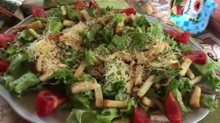 Дача выходные / гости из леса / супер салат