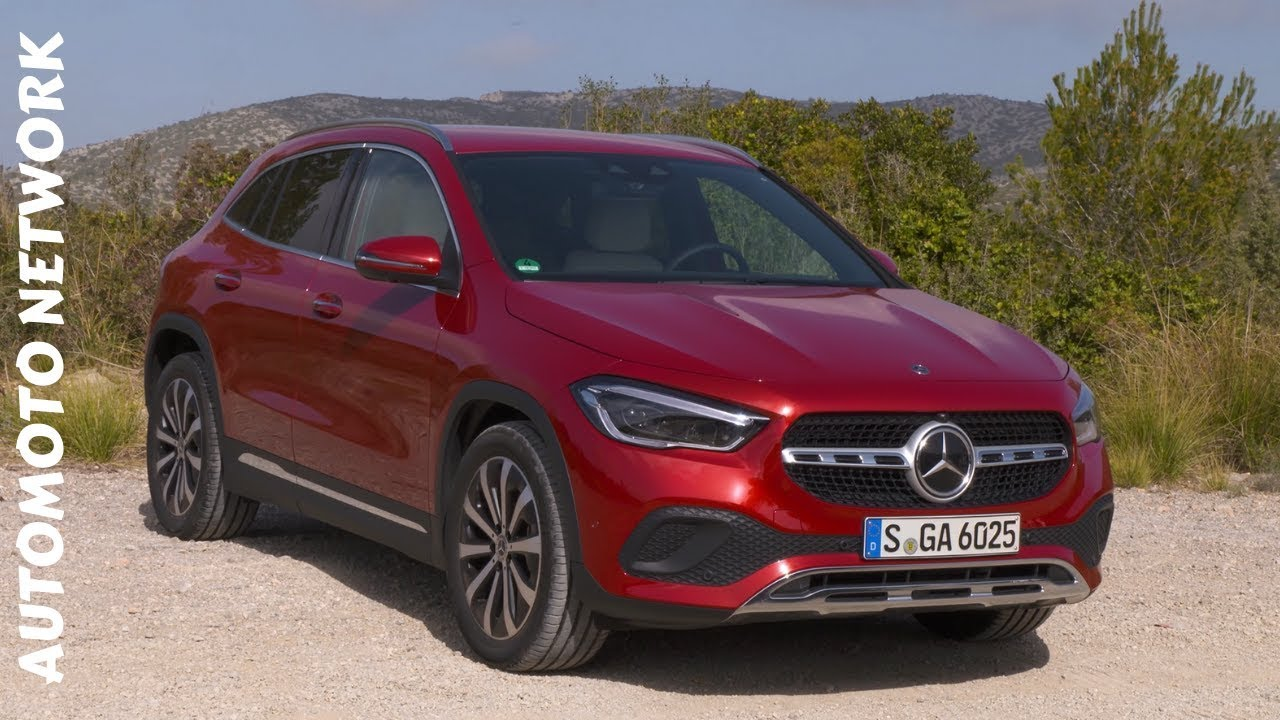 2021 mercedes-benz gla 220 d 4matic ,patagonia red - youtube