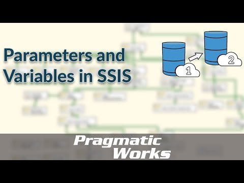 Parameters and Variables in SSIS - YouTube