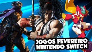 Lançamentos de FEVEREIRO para o Nintendo Switch
