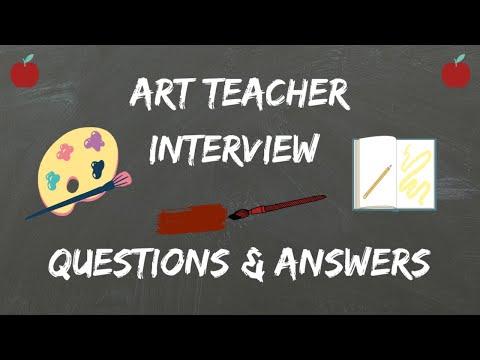 Art Teacher Interview Questions  Answers - YouTube - interview questions for teachers