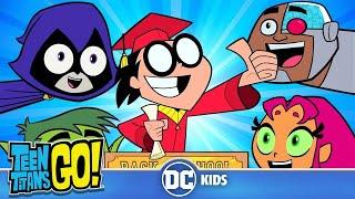 Teen Titans Go! En Español | ¡Vuelta a la escuela! | DC Kids