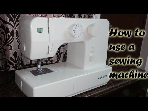 how to use singer merritt 1409 sewing machine | basics and demo for absolute beginners | Niya Kumar
