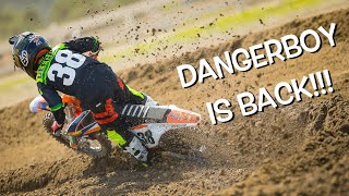 DANGERBOY DEEGAN BACK ON HIS DIRT BIKE!!!