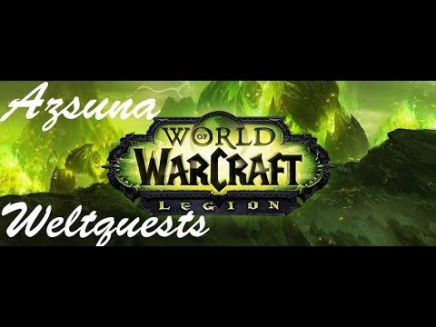 Wow Legion Weltquest: Untersuchung in Mak´rana - Azsuna - HD - 7.0.3