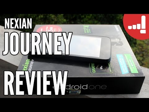 Nexian Journey Android One Lollipop 5.1 Review