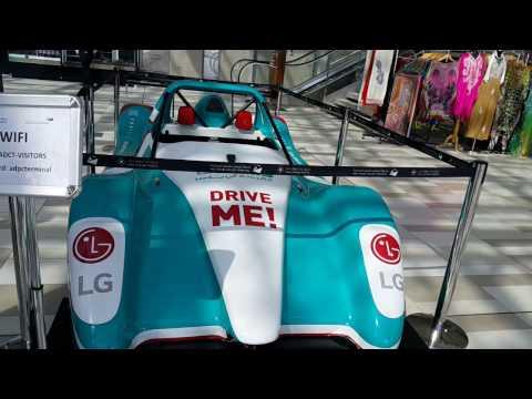 Yas Marina Circuit Racing Car at Mina Zayed in Abu Dhabi 05.12.2016