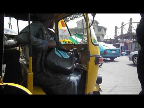 Drive Around Lagos in Keke Maruwa