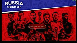 PES 2018 JOGRESS V4 FIFA WORLD CUP RUSSIA 2018 ISO PPSSPP