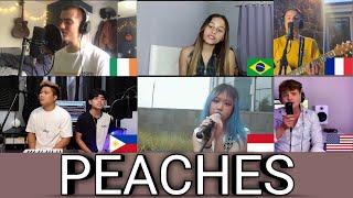 Quem Cantou Melhor? Cover Peaches (Filipinas,Irlanda,Indonésia,USA,França,Brasil)