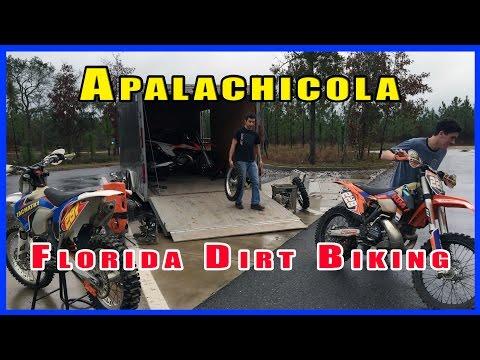 DIRT BIKING IN FLORIDA ~ Apalachicola ~ 2015 Road Trip P2 - S6|EP21