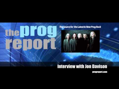 Jon Davison YES   The Prog Report