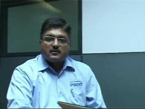 S Chandra Mauli, Regional Sales Manager, Spirent Communications India Pvt. Ltd.