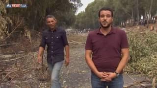 احتجاجات وقطع للطرق في فرنانة التونسية